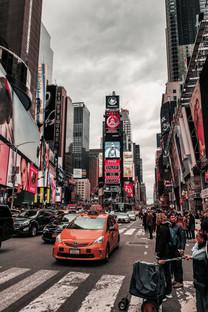 繁华城市街道美景图片壁纸