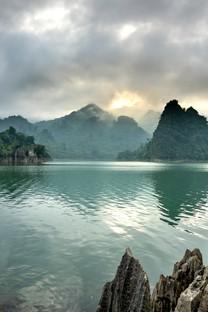 唯美水乡风景高清图片壁纸2