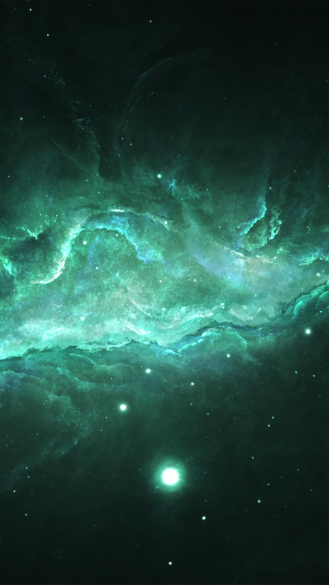 闪耀唯美多彩宇宙星球壁纸2