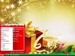 金色圣诞主题 XP版