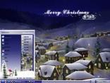 圣诞小村落主题 XP/VISTA/WIN7版