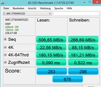 AS SSD Benchmark(固态硬盘测速工具) 2.0-截图
