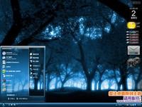 魔幻森林电脑桌面主题