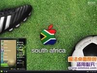 2010南非世界杯苹果电脑桌面主题