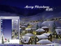 圣诞小村落主题