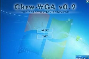 Chew Wga(win7激活工具) 0.9