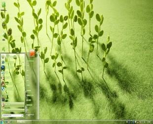 win7绿色养眼主题_【绿色养眼主题】绿色养眼电脑主题 Win7版-ZOL软件下载