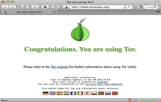 Tor Browser Bundle for Mac 6.5