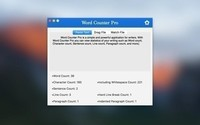 Word Counter Pro For Mac 1.7.1-截图