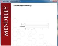 Mendeley Desktop 1.17.12-截图