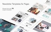 Newsletters Templates Pages For Mac 1.2-截图